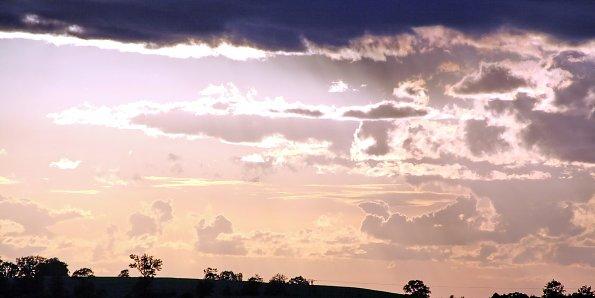 Abendstimmung Wolkenhimmel