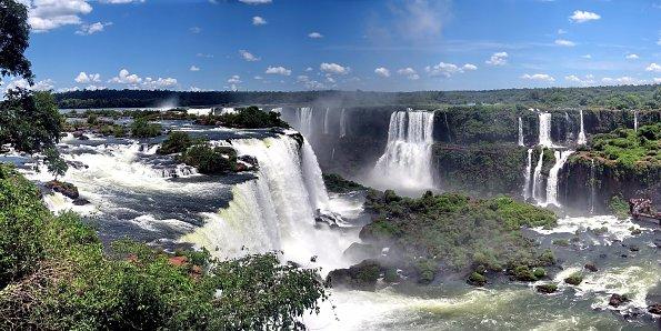 Brasilien Wasserfaelle