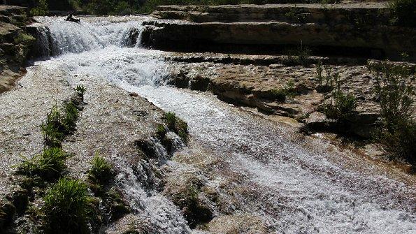 Cavagrande del Cassibile Quellwasser