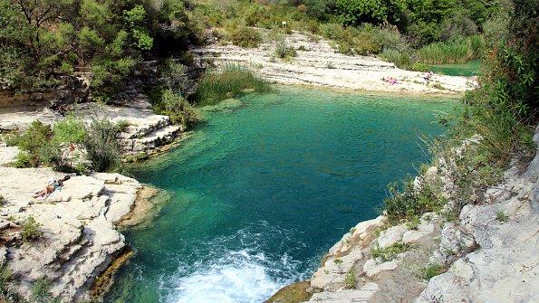 Cavagrande del Cassibile Wasser