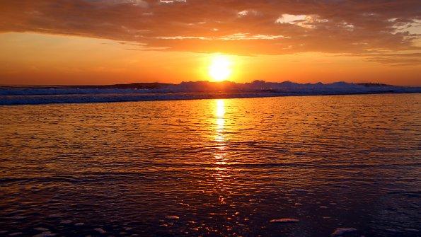 Entspannung Sonnenuntergang