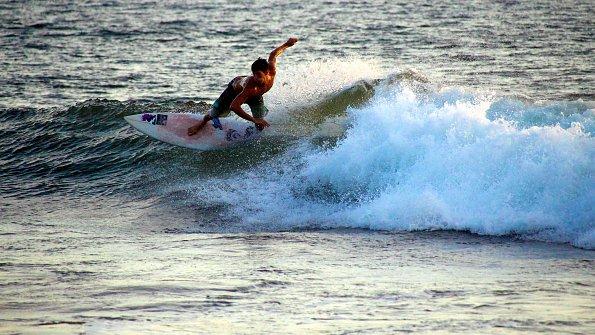 Geschwindigkeit Wellen Costa Rica