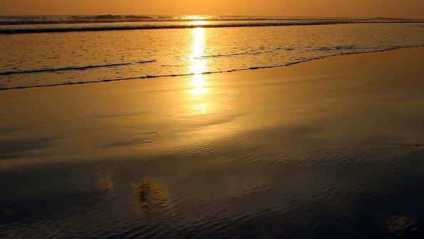 Gewaesser Sonnenuntergang