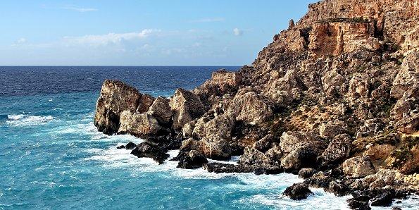 Klippen am Meer