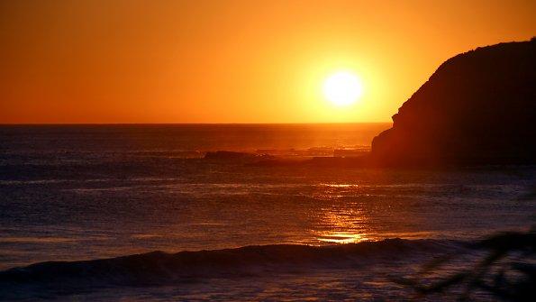 Wasser Sonnenuntergang