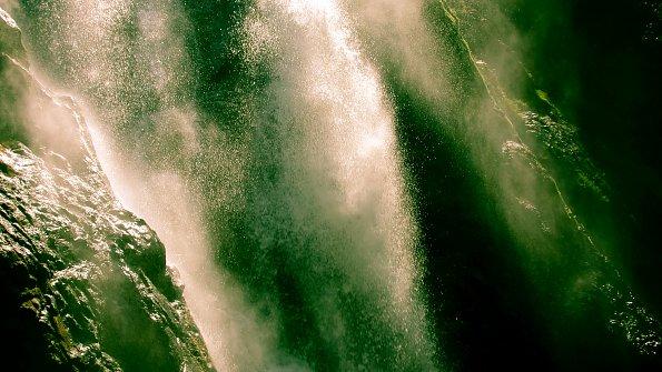 Wasserfall Gewaesser