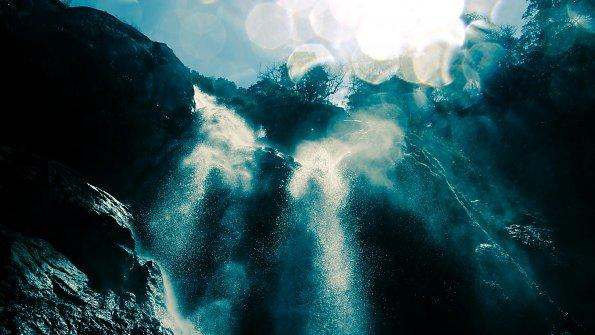 Wasserfall Glanz