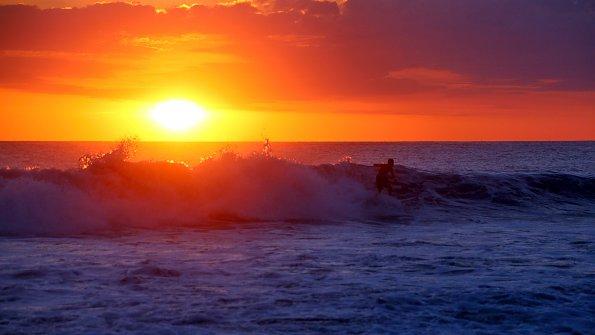 Wellen Urlaub Meer
