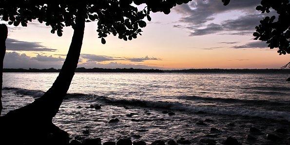 Panama Abendhimmel