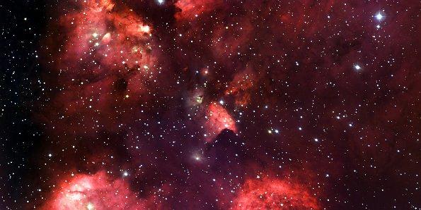 Rotes Sternenbild