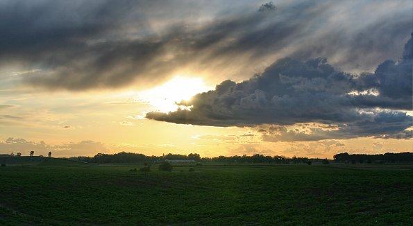 Abendstimmung Sonnen Untergang