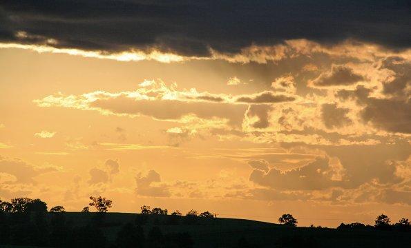 Daemmerung Sonnen Untergang
