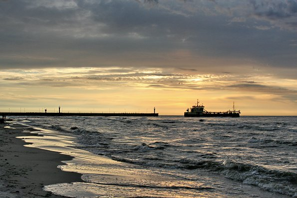 Ostsee Sonnenuntergaenge