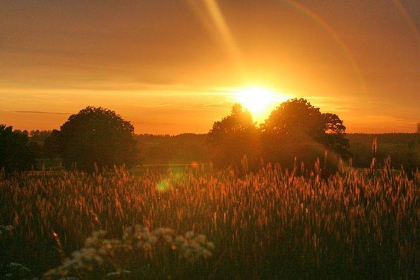 Sonnenuntergaenge Polen