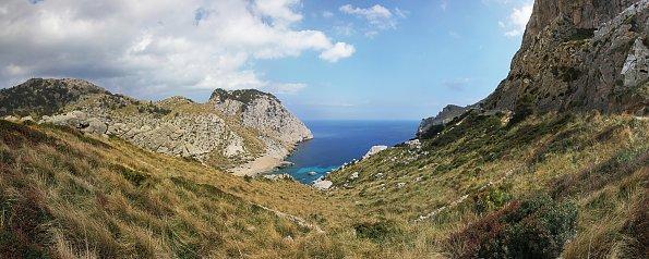 Berg und Lagune