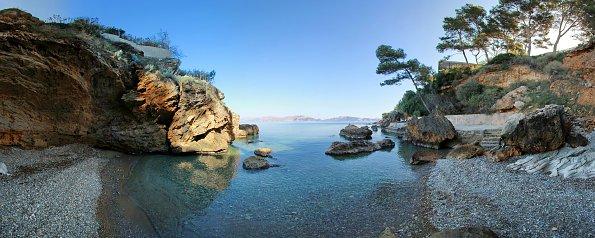 Einsame Lagune