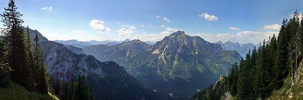 Gebirge Horizont