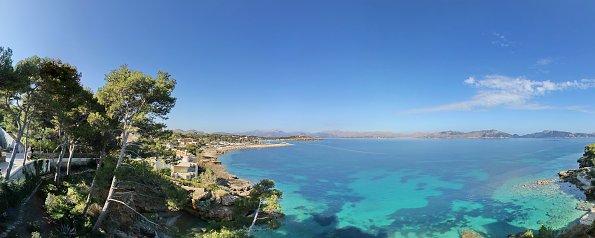 Mallorca Ausblick aufs Meer