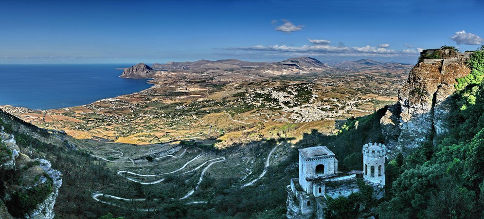 Erice-Sizilien